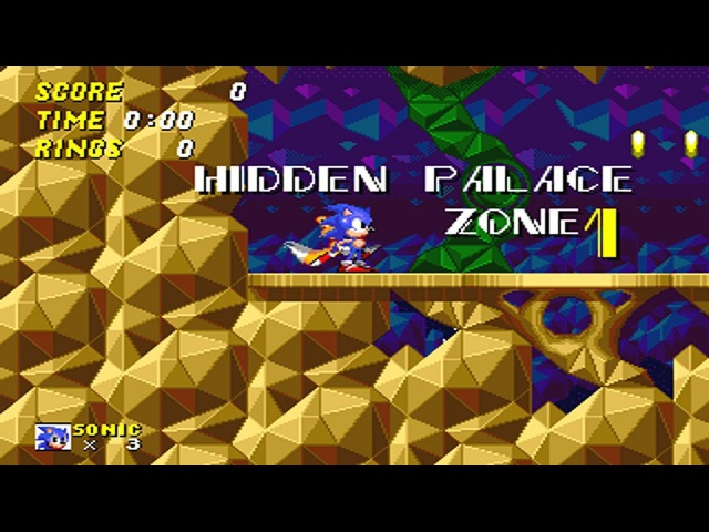 Sonic 2 Beta - Hidden Palace Zone