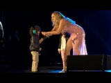 Roc & Roe on stage with Mummy Mariah! @ Cape Town, Southfrica.