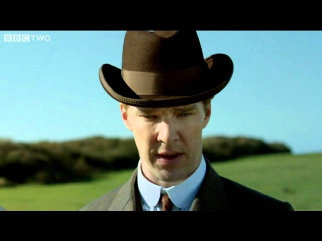 Christopher and Sylvia on the cliff top - Parade's End - Episode 2 - BBC Two