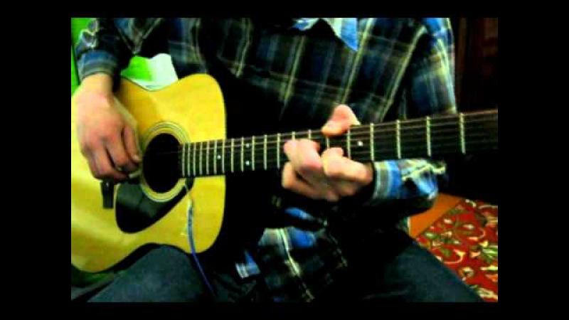 GODFATHER Theme TABS (Мелодия из к/ф Крестный отец) - solo acoustic Guitar