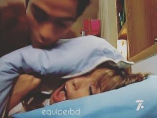 """R B D on Instagram: """"Miguel esconde Mia para que Estevão não a veja no quarto dos meninos 😂😂🆘😍, Gente esse capítulo é muito maravilhoso 😂😍❤ . • @anahi @ponchohd…"""""""