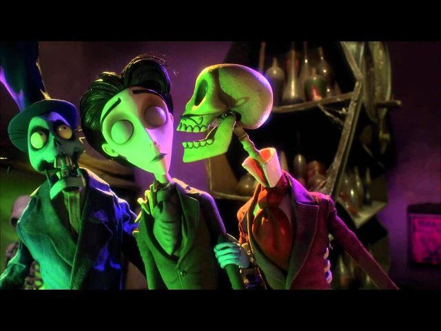 Tim Burton's Corpse Bride main song - Remains of the Day