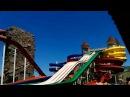 Баку 4 аквапарк Далга Катаемся на горках Новые сюрпризы Baku Azerbaijan Dalga Beach Aquapark
