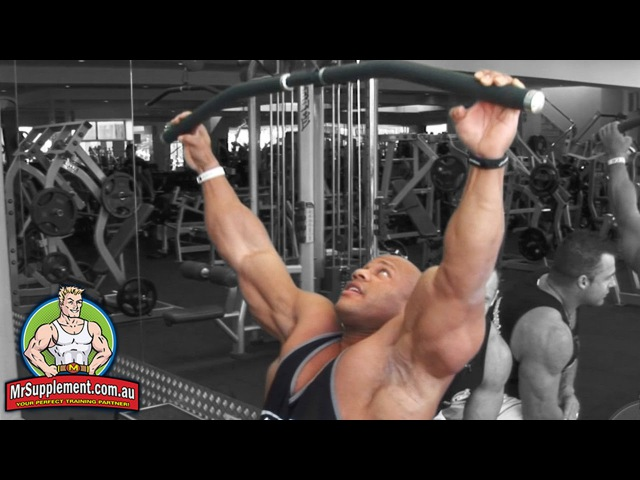 Phil Heath's Lat Pull Down | Back Exercise 1