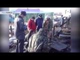 Последствия пожара: дом в томском селе, где погибли 8 человек