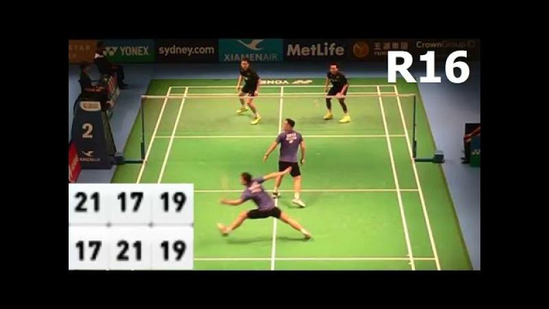 2016 Australia Open | KOO Kien Keat /TAN Boon Heong vs Mohammad AHSAN /Hendra SETIAWAN