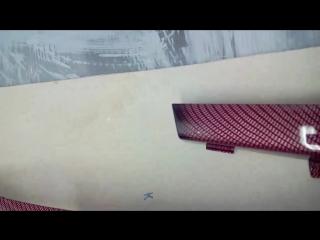 Детали салона Lancer X, текстура