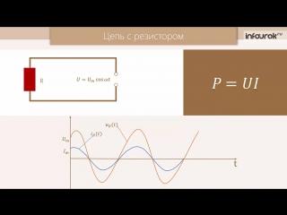 12. Переменный ток. Активное сопротивление. Конденсатор и катушка индуктивности в цепи переменного тока