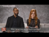 The Shadowhunters Cast Shares Their Social Media Obsessions [RUS SUB]