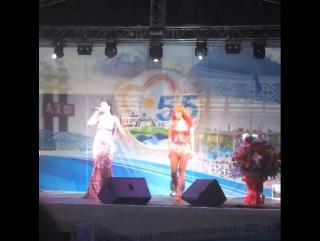 Певица Слава в Аксу на День Металлурга