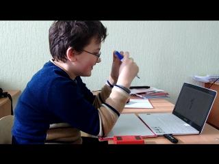 Зайцев Глеб (11 лет). 1,5 месяца занятий.