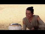 Звёздные Войны 7 Пробуждение Силы о дроиде ББ 8 Star Wars Episode 7 The Force Awakens on droid BB 8