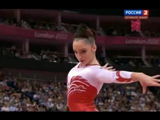 Алия Мустафина. Вольные упражнения. Лондон-2012