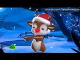 С Рождеством! Поздравление от Зуби-Зайки