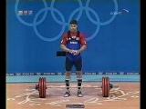 23.08.2004. Летние Олимпийские игры в Афинах. Тяжёлая атлетика. Мужчины. Категория до 94 кг