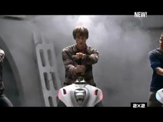 Могучие рейнджеры супер самураи 19 сезон 20 серия 2x2
