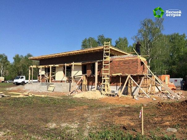 24 мая 2016. Завершаем фасадные работы.