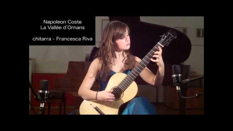 Napoleon Coste, La Vallée d'Ornans - chitarra: Francesca Riva