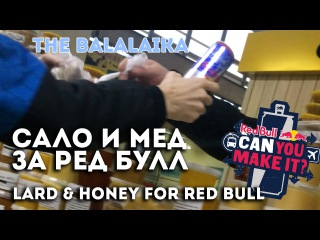 Купили сало и мед за Ред Булл – Белгород, THE BALALAIKA