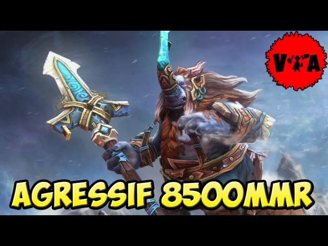 Dota 2 - Agressif 8500 MMR Plays Magnus vol 1 - Ranked Match