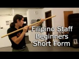 Filipino Staff for Beginners - Bankaw - Kali, Escrima, Arnis