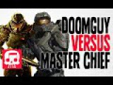 DOOMGUY VS MASTER CHIEF Rap Battle by JT Machinima and Teamheadkick