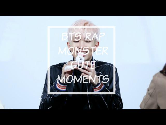 BTS RAP MONSTER CUTE MOMENTS (▰˘◡˘▰)