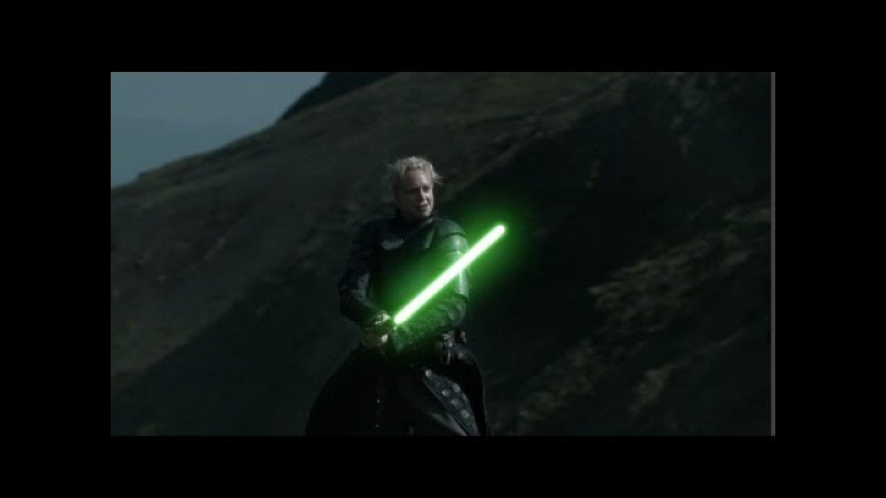 Game of Thrones/Star Wars: Brienne vs The Hound with Light Sabers