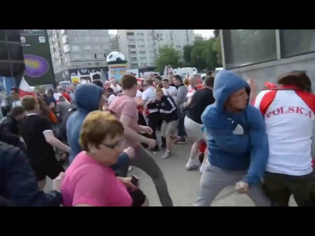 Русские фанаты избили Поляков за Русска Курва Крестовый поход против русофобии