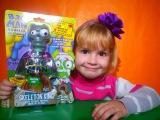 Распаковка игрушки зомби лизун с сюрпризом Unpacking toys zombies with a surprise