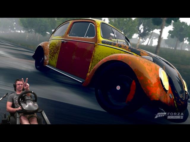Дрифт корч в X999 классе Volkswagen Beetle '63   Forza Horizon 2