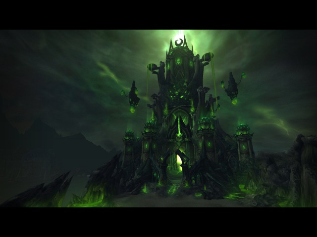 Legion Structures and Tomb of Sargeras - Fanny Vergne (World of Warcraft Legion)
