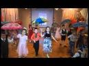 """Танец с зонтиками """"Кап кап кап"""". Осенний бал в детском саду."""