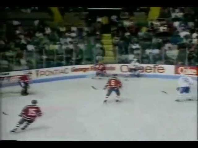 Cуперсерия 1988-89. Квебек Нордикс - ЦСКА (5:5)