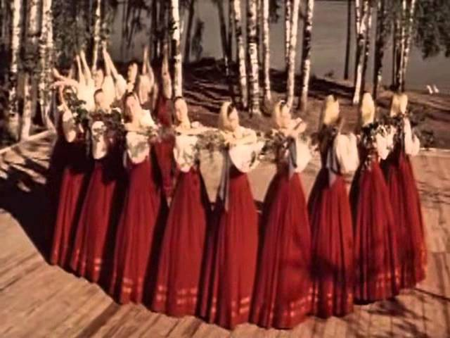 Берёзка Русский девичий хоровод Ансамбль Берёзка 1960