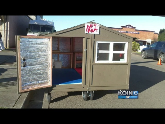 'Huts for Hope' give homeless new digs on wheels