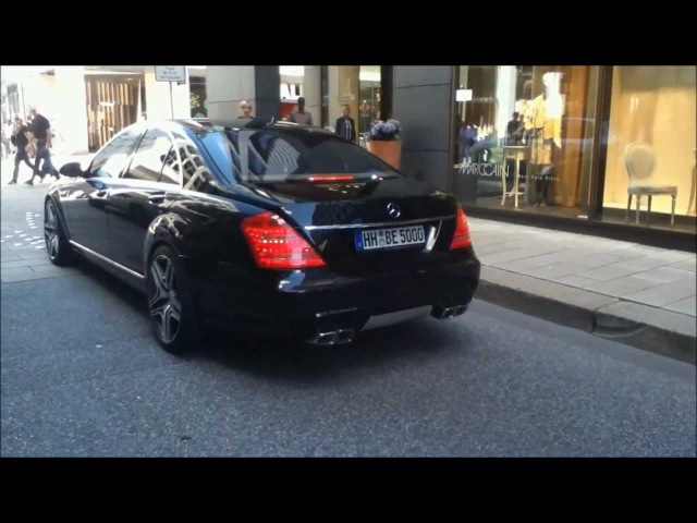 Mercedes S63 AMG Hard REVS And LOUD Acceleration
