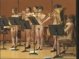 Naked Music Band Performed in Theatre  Nh