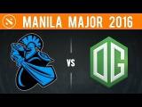 Dota2-OG Dota2 vs Newbee-Game 2- Malina Major 2016- Miracle come back!