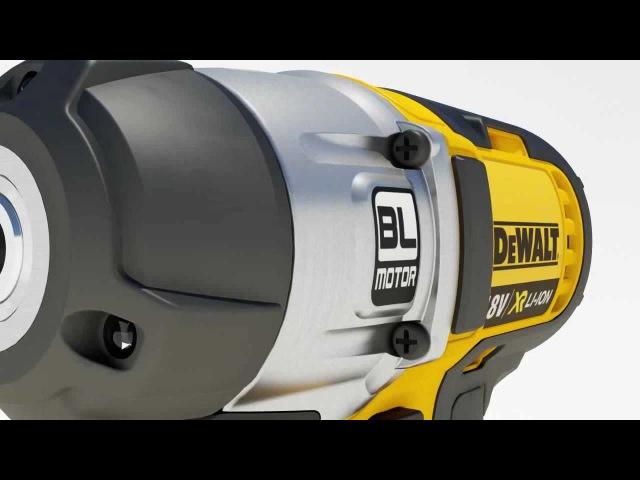 Бесщёточный двигатель DeWALT BL motor