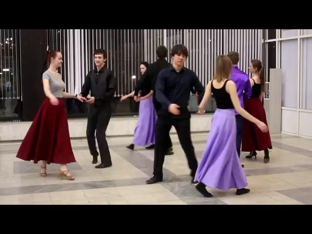 Марш Рима | Схема танца