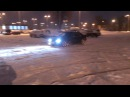 BMW E36 snow drift 328i