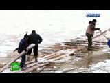 Сломавшийся паром отрезал от мира несколько тысяч жителей Костромской области