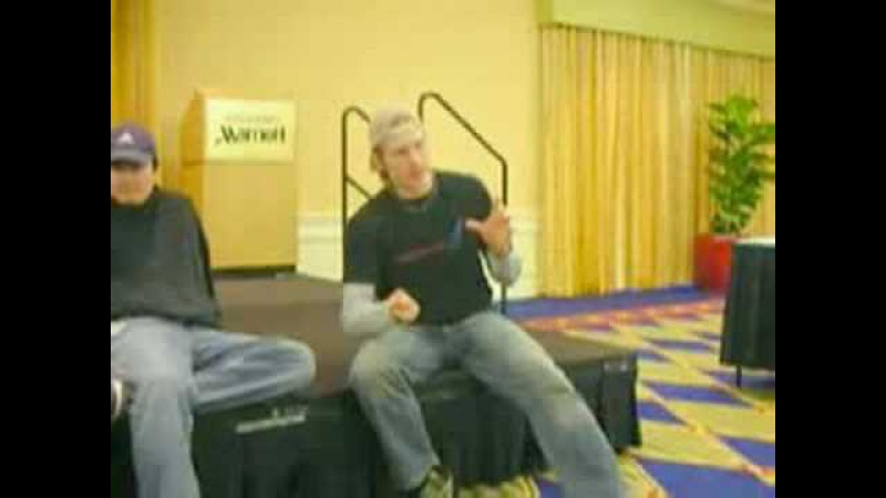 DMC4 voices actors in press conference at ToA 2007 part1 of 2
