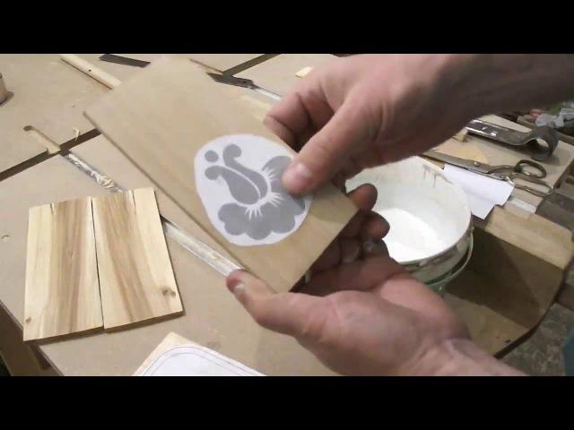 Как делать шкатулки на лобзиковом станке.