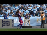 FIFA 16 - Barcelona vs Manchester City 2015 - Lionel Messi Cool Goal Gameplay HD