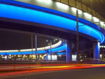 Собянин открыл движение по тоннелю на развязке МКАД с Ленинским проспектом, Москва, Сергей Собянин