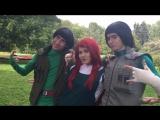 Naruto cosplay project / ЗА КАДРОМ / косплей - проект по Наруто /
