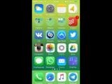 Как на iOS сделать круглыми иконки папок
