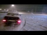 Subaru Legacy. Зима, парковка и раскаленный коллектор)